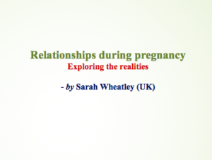 Relationships during pregnancy