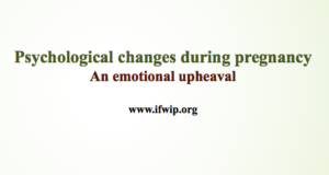 Psychological changes during pregnancy