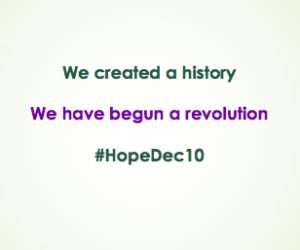 #HopeDec10